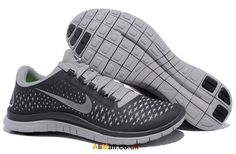 For Training Nike Free 3.0 V4 Mens Shoes Dark Grey Refl...