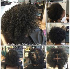 Hair Studio, Locs, Natural Hair Styles, Hair Makeup, Party Hairstyles, Goddess Braids, Braided Pigtails
