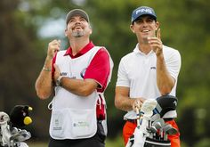 #BillyHorschel...CHERRY HILLS VILLAGE, CO - SEPTEMBER 07: Billy Horschel of the United States waits with his caddie  Micah Fugitt on the third tee during the final round of the BMW Championship at the Cherry Hills Country Club on September 7, 2014 in Cherry Hills Village, Colorado.  (Photo by Doug Pensinger/Getty Images)