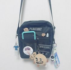 My Bags, Purses And Bags, Bts Doll, Bts Bag, Catty Noir, Bts Concert, Kpop Merch, Bts Chibi, Cute Bags