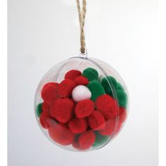 Hobbycraft Small Fillable Baubles 6 Pack | Hobbycraft