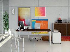 Estación de trabajo Methro Colección Methro by Arcadia Componibili - Gruppo Penta