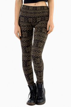 Tribalism Leggings