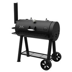 Dyna-Glo Heavy-Duty Barrel Charcoal Grill at Lowe's. Maximize your outdoor cooking experience while keeping storage to a minimum. The heavy-duty barrel charcoal grill features a collapsible steel front work