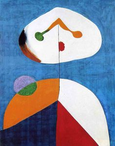 joan miro sculpture | Portrait 2 - A surrealist joan miro art wallpaper picture