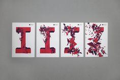 IJUP 2012 — Visual Identity by Tiago Campea, via Behance