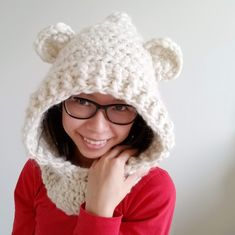 Awesome Photo of Scoodie Crochet Pattern Free Scoodie Crochet Pattern Free Ill Be Your Mama Bear Hooded Scarf Scoodie Crochet Pattern Once Crochet Hoodie, Crochet Bear, Free Crochet, Irish Crochet, Crochet Teddy, Hooded Scarf Pattern, Hooded Cowl, Scarf Patterns, Crochet Scarves