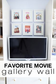 Free artwork for your wall.  Use the case art from your favorite movie DVD's to make a gallery wall...big or small | In My Own  Style