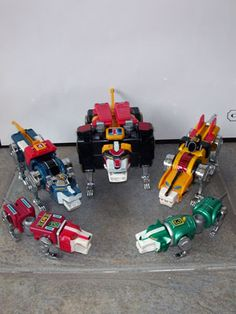 Voltron into these toys in the 80's.
