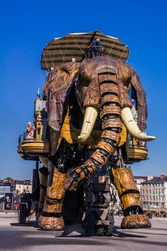 Les Machines De L'Ile: A Must-See In Nantes, France | The Travel Tester