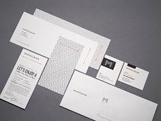 Several modern print designs