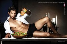 """""""The Only Thing Better than Dressing is Undressing""""   http://adsoftheworld.com/media/outdoor/kraft_dressings_lets_get_zesty_room"""