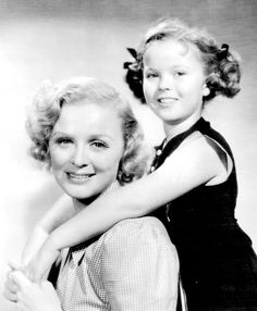 Gloria Stuart and Shirley Temple in Rebecca of Sunnybrook Farm, 1938. Description from pinterest.com. I searched for this on bing.com/images