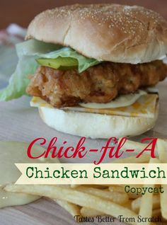 Made this friend chicken last night for a sandwich. Amazing & delicious!! Chick-fil-A Crispy Chicken Sandwich copycat on MyRecipeMagic.com