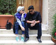 Joshua-Sanders003 hybrid in a headpiece fashion blog kuwait