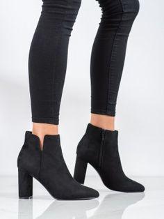 Elegantné členkové topánky Booty, Ankle, Shoes, Fashion, Moda, Swag, Zapatos, Wall Plug, Shoes Outlet