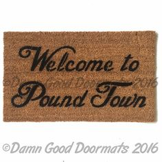 Welcome to Pound Town™ sex time funny rude outdoor mature
