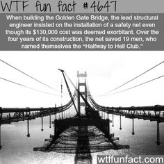 Halfway to hell club - WTF fun facts
