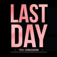 Last day to order! #ThirtyOne #ThirtyOneGifts #31Party #MarketingMaterials #OnlineParty #FacebookParty