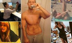 Sexy selfies go bad: Dirty rooms, photobombing family, Photoshop fails