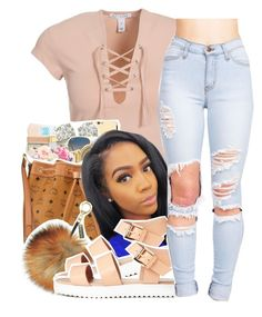 """""""At Your Best (You Are Love)"""" by queen-vanessa ❤ liked on Polyvore featuring NLY Trend"""