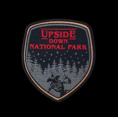 """""""Upside Down National Park"""" Patch"""
