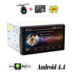 AUTORADIO Quad Core 1Ghz 7INCH Android 4.4 without CAR DVD player, GPS Stereo Car Audio 3G wifi 2 DIN universal SWC