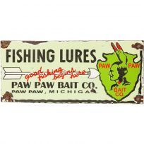 Paw Paw Bait Co. Fishing Lures Wall Decal