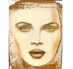 Art on Cardboard by TinfenaStudio