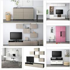 Einrichtungsideen Ikea Besta Möbel