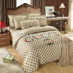 Cheap set scarf, Buy Quality cotton baby bedding sets directly from China cotton jersey maxi dress Suppliers: Description 2014 NEW ARRIVAL! This Luxury DUVET COVER Bed Set Would Look Beautiful in YOUR Bedroom Gucci Bedding, Duvet Bedding, Luxury Bedding, Cotton Bedding, Baby Bedding Sets, Duvet Cover Sets, Comforter Sets, Queen Bedding Sets, Bedroom Sets