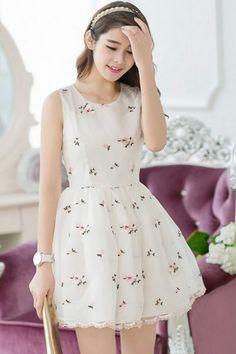 Lovely Summer Dress find more women fashion ideas on www.misspool.com