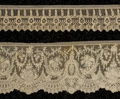 In the Swan's Shadow: BRUSSELS LACE TRIM, 19th C.
