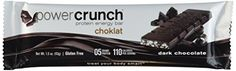 BioNutritional Research Group Choklat Crunch Protein Crisp Bars Dark Chocolate  15 oz 43 g bars  12 countGLUTEN FREE *** Want additional info? Click on the image. (This is an affiliate link) #PreWorkoutNutrition