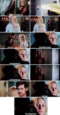 "#OnceUponATime 5x04 ""The Broken Kingdom"" - Hook and Emma"