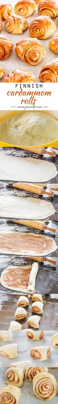 Finnish Cardamom Rolls
