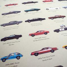 Attori che si contendono il ruolo di protagonista con la loro auto-icona? #memories: the filmography of cars #car #film #icon #style
