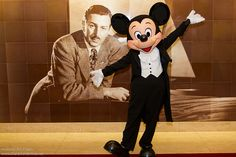 DCL Feb 2012 - Meeting Mickey on Formal Night | Flickr - Photo Sharing!