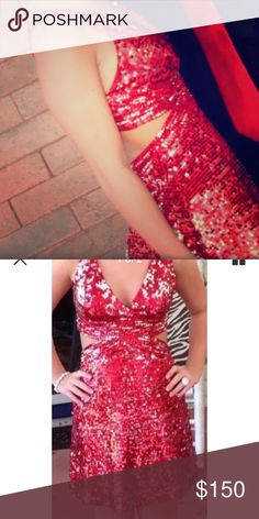 Wow! Prom & Pageant Dress Originally a size 4 but was altered to fit 0-2. Perfect condition. Wow! Prom & Pageant Dresses Prom
