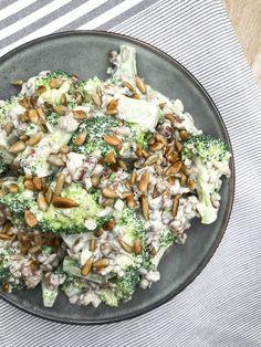 Bacon, Always Hungry, Up Halloween, Broccoli, Cobb Salad, Feta, Brunch, Pork, Cheese