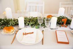 You+Us=Fun! - Simplesmente Branco - Momentos com Design Table Settings, Table Decorations, Furniture, Design, Home Decor, Simple, Weddings, Decoration Home, Room Decor