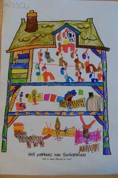 Sinterklaas – Juf Leonie Free Printables, Activities For Kids, December, Children, Drawings, Painting, Inspiration, Circuit, Stage