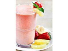 Strawberry Pineapple Banana Smoothie