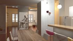 3D - archstudiodesign Studio Design, Conference Room, Table, 3d, Furniture, Home Decor, Decoration Home, Meeting Rooms, Tables