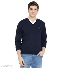 Checkout this latest Sweaters Product Name: *kvetoo Men Wool Blend Full Sleeve V Neck Casual Winter Wear Sweater* Fabric: Wool Sleeve Length: Long Sleeves Pattern: Solid Multipack: 1 Sizes: S, M (Chest Size: 38 in, Length Size: 23 in, Waist Size: 40 in, Hip Size: 40 in)  L (Chest Size: 38 in, Length Size: 23 in, Waist Size: 40 in, Hip Size: 40 in)  Country of Origin: India Easy Returns Available In Case Of Any Issue   Catalog Rating: ★4 (322)  Catalog Name: Trendy Glamorous Men Sweaters CatalogID_1982414 C70-SC1208 Code: 424-10770715-069