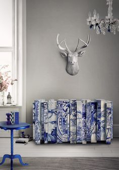 Navy-Blue-Buffets-and-Cabinets-for-This-Spring-10 Navy-Blue-Buffets-and-Cabinets-for-This-Spring-10