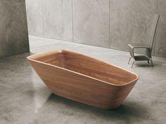 banheira em madeira | Decorando com Classe