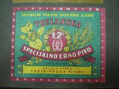 Tuzlansko specijalno crno pivo - Tuzla special dark beer