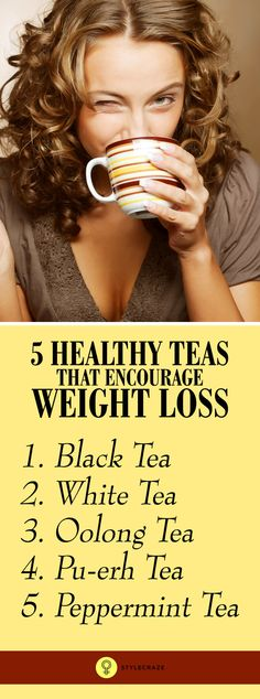 5 Amazing Teas That Encourage Weight Loss
