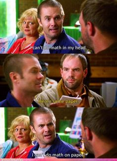 Ah! This show is so funny! I can't do math on paper! Come on now! (Raising Hope) @marcohduplessis